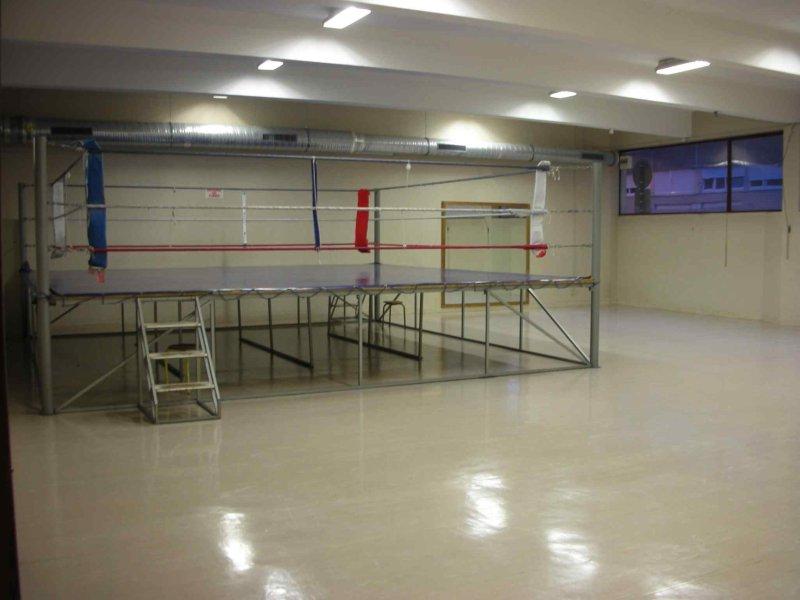Salle d`entrainement de la metare.