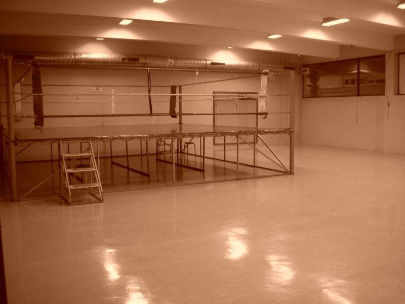 Salle d`entrainement de la Métare.